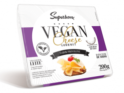 VEGANCHEESE GOURMET PROVOLONE 200G - SUPERBOM